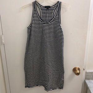 JCrew 100% Cotton Striped Racerback Dress